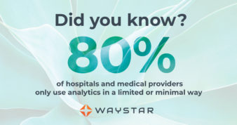 A majority of providers only use analytics in a minimal or limited way.