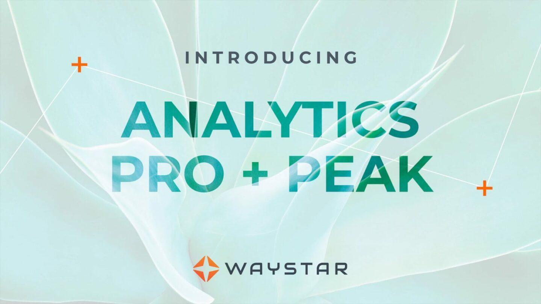 Analytics Pro + Peak Video