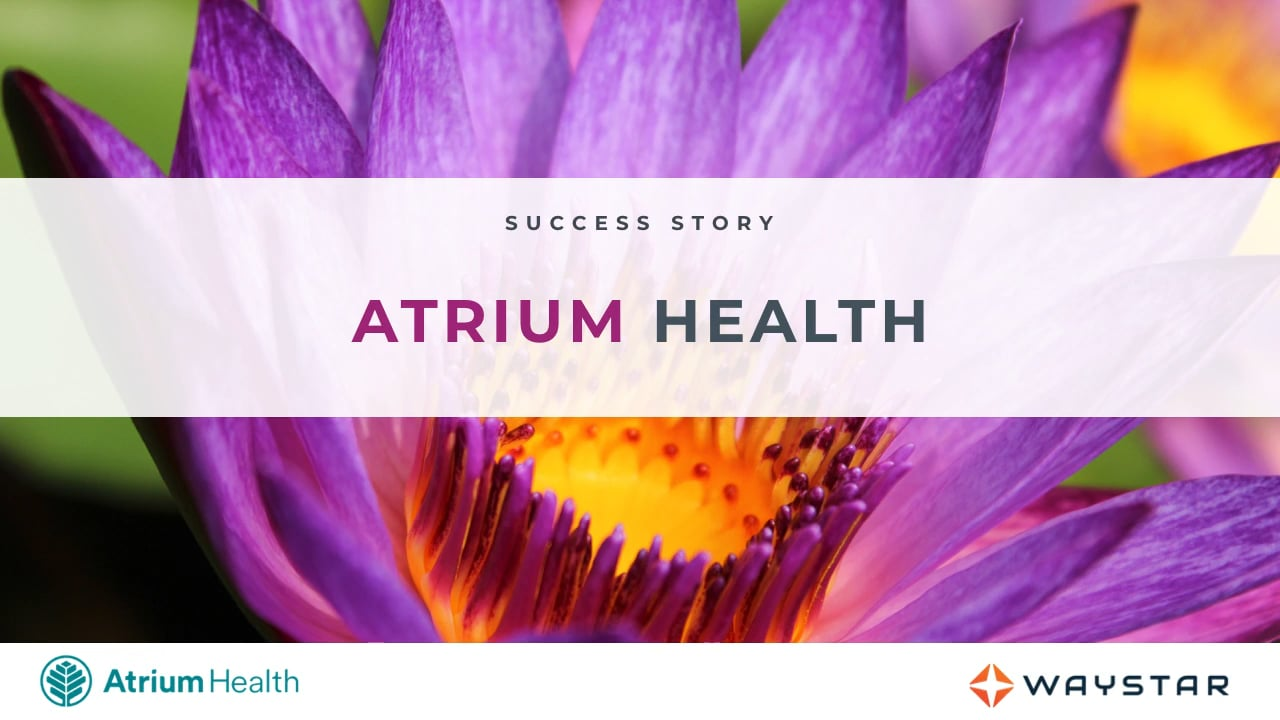Success story: Atrium Health
