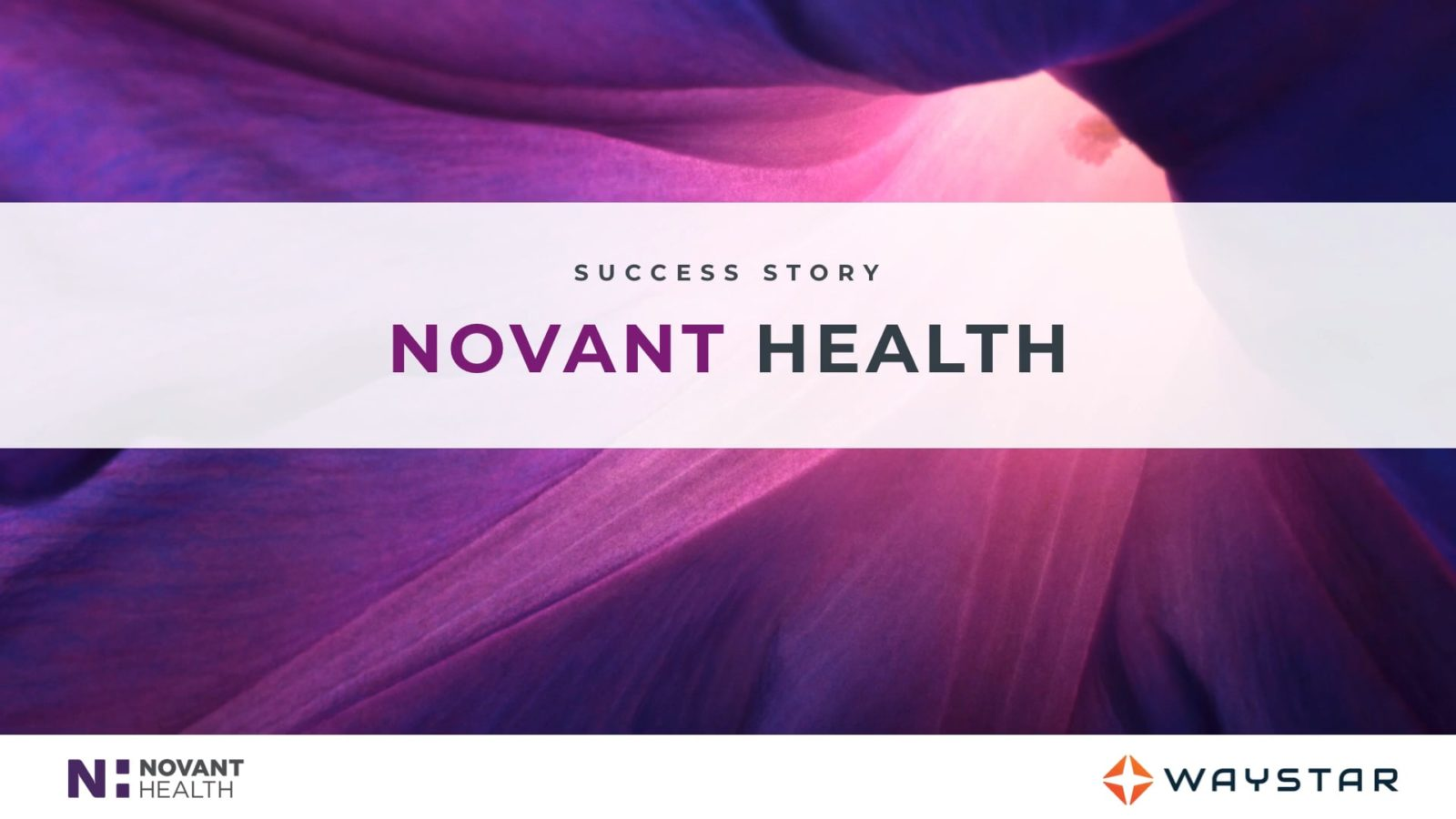 Success story: Novant Health