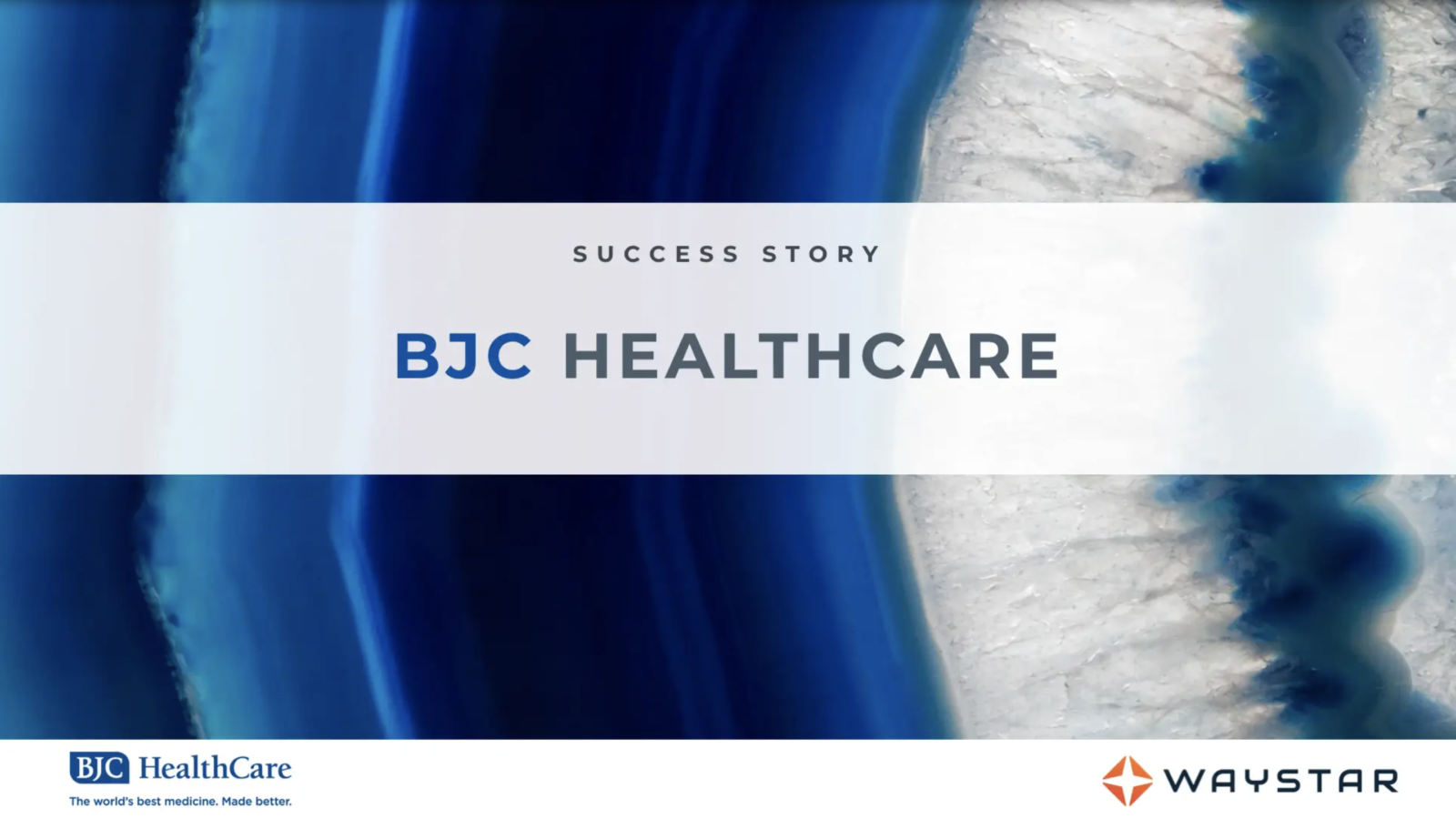 Success story: BJC Healthcare