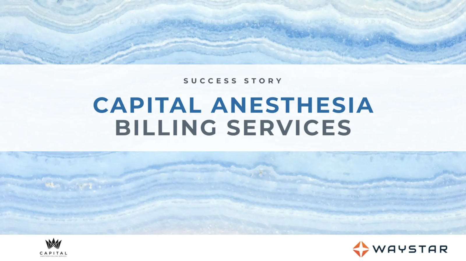 Success story: Capital Anesthesia