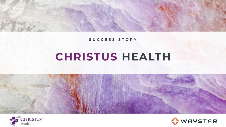 christus health success story