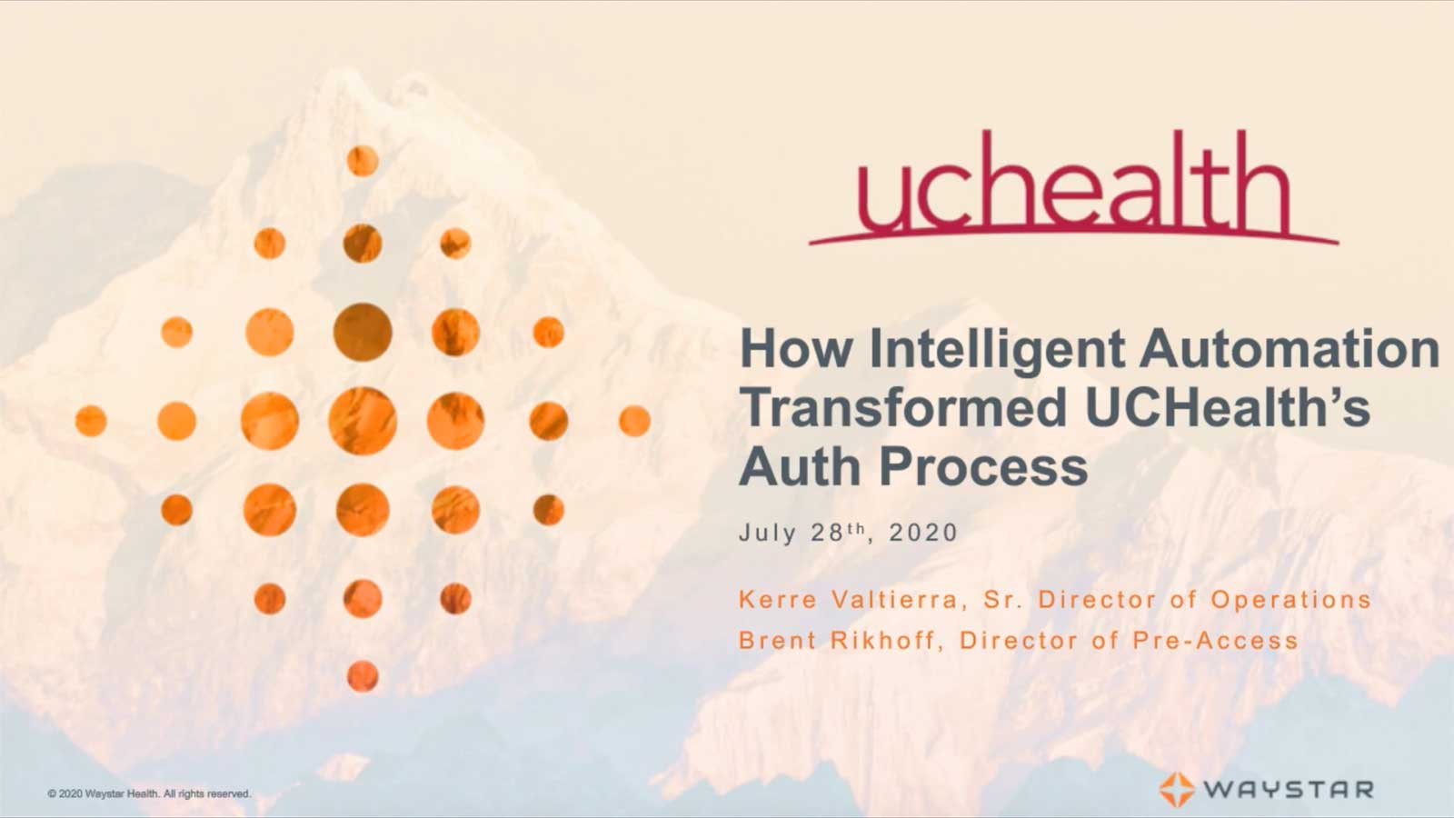 How Intelligent Automation Transformed UCHealth's Auth Process