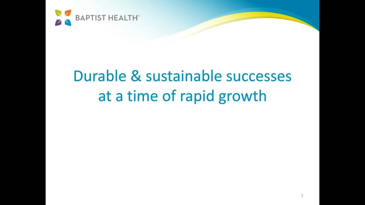 Webinar: Baptist Health