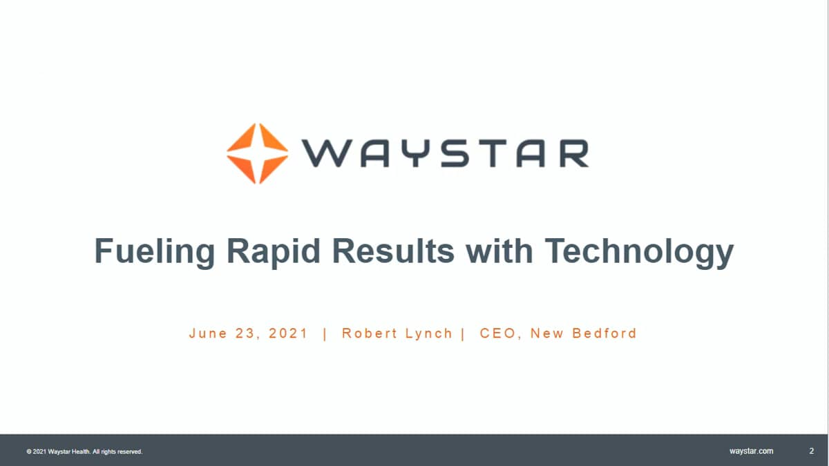 New Bedford: Fueling Rapid Results with Technology