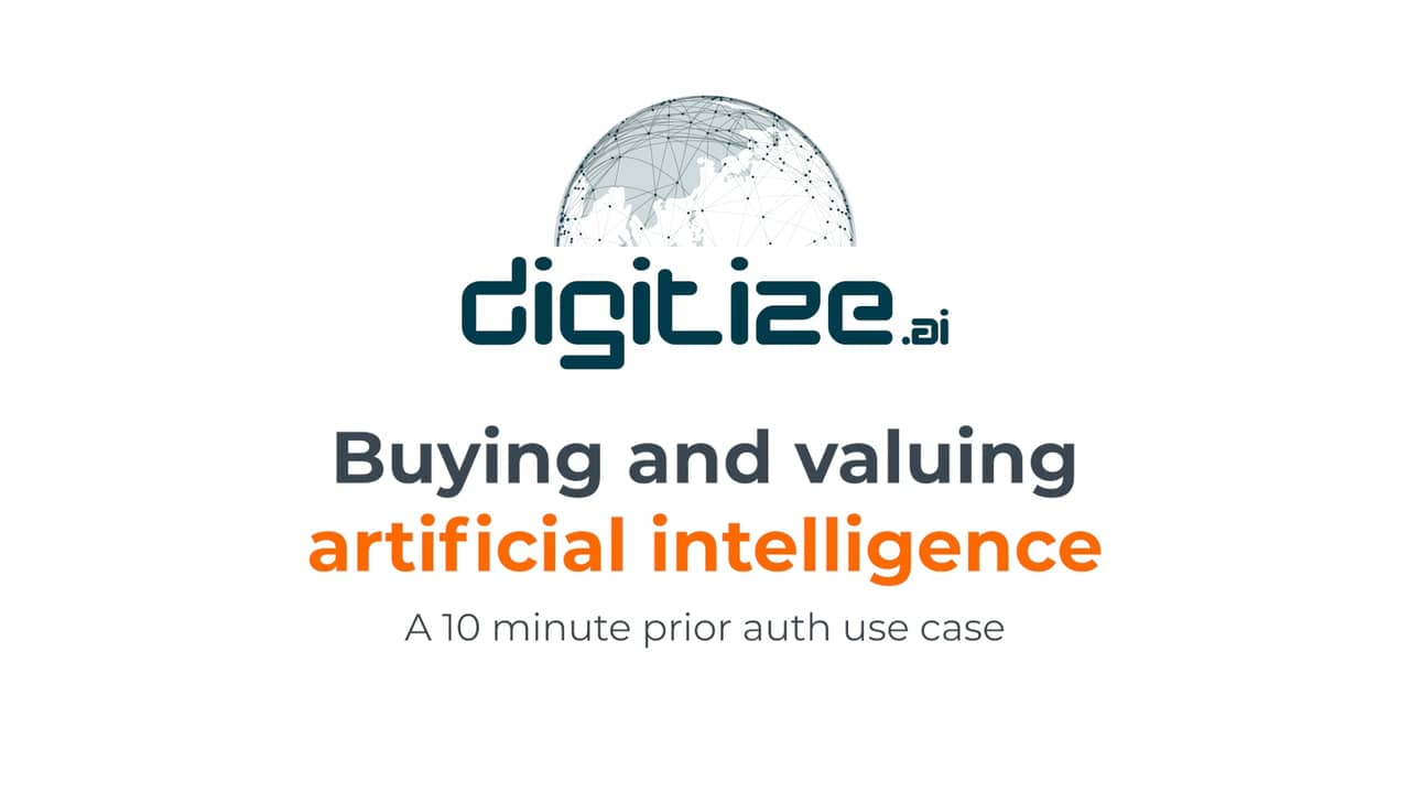 Webinar: Patrick Morrell from Digitize.AI speaking at HFMA 2019